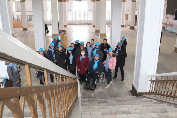 Мониторинг общественной среды на доступность лицам с инвалидностью.