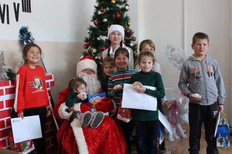 Итоги новогодней акции «Дарим детям радость»